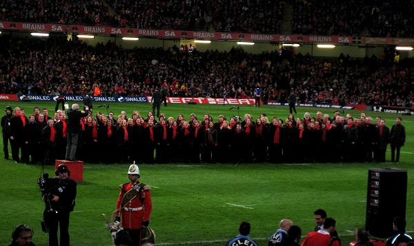 Gêm Cymru v Ffrain 2010